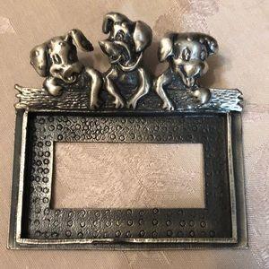 Other - Pewter card holder
